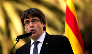 España: Puigdemont descarta elecciones en Cataluña por falta de garantías