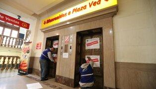 Clausuran conocido supermercado ubicado en el Jirón de la Unión