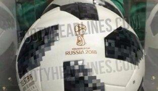 Mundial Rusia 2018: filtran primeras imágenes de la pelota oficial