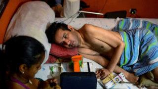 Venezolano parapléjico clama eutanasia ante escasez de medicamentos