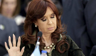 Argentina: Cristina Fernández declara ser perseguida política