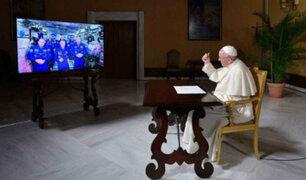Papa Francisco: Santo Padre conversó con la Estación Espacial Internacional