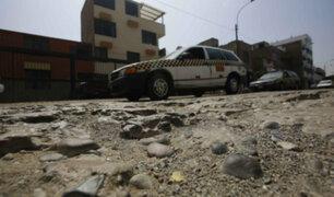 Tráfico, baches y desperdicios generan caos en vías con alto tránsito de Lima