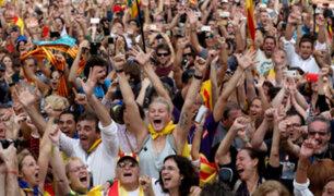 España: Parlamento de Cataluña declara la independencia