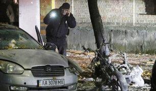 Ucrania: atentado deja un muerto y tres heridos