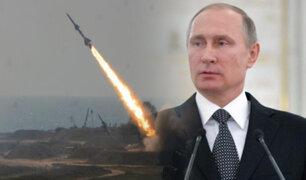 Rusia dispara cuatro misiles balísticos intercontinentales