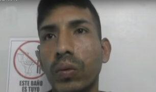 Rímac: intervienen delincuente que robaba rompiendo lunas de vehículos