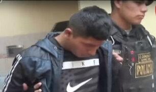Cercado de Lima: capturan a delincuente  que robaba a pasajeros de vehículos