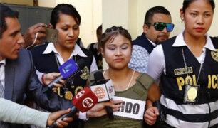 Shirley Silva Padilla será trasladada a un penal de Lima en las próximas horas