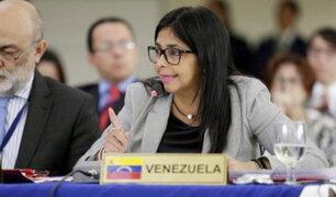 "Venezuela: Delcy Rodríguez califica a Grupo de Lima de ""fracasados"""