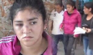 Chimbote: mujer denuncia que sus tíos la golpearon salvajemente
