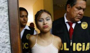 Shirley Silva es trasladada a la carceleta del Poder Judicial