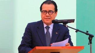 """Ministro Mendoza: """"Mi posición sobre la pena de muerte no compromete al Gobierno"""""""