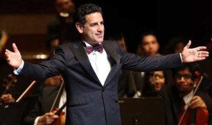 España: Juan Diego Flórez ofrece concierto por voluntarios