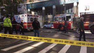 VIDEO: atropello y tiroteo en Manhattan dejan  8 muertos y 12 heridos