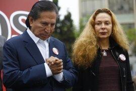 Juez confirmó congelamiento de cuentas de Alejandro Toledo y Eliane Karp