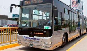 Metropolitano: usuarios temen ser víctimas de más asaltos en buses