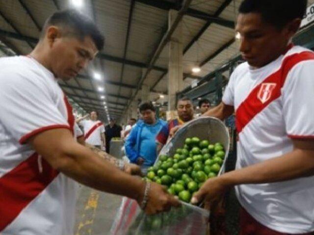 ¡El limón bajó de precio! Valor del kilo llegó hasta 2 soles en mercado mayorista