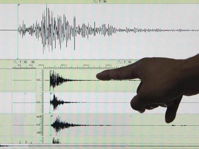 Cinco sismos se registran en lo que va del día en varias regiones del país