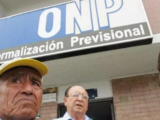 Presentan proyecto para retiro del 100% de fondos de la ONP