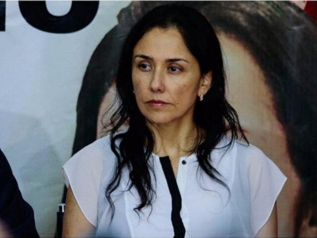 Rechazan pedido de impedimento de salida del país contra Nadine Heredia