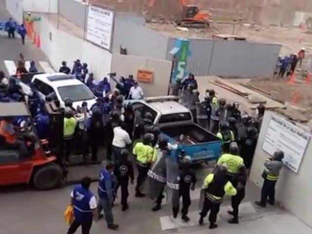 Al menos 8 heridos deja enfrentamiento entre serenos de San Miguel y Lima
