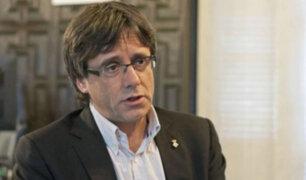 Bélgica: Puidgemont acepta elecciones y asegura que no pedirá asilo político