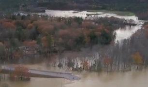 EEUU: tormenta deja inundaciones y a miles de personas sin electricidad