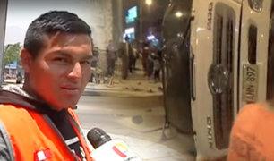 San Juan de Lurigancho: denuncian constantes accidentes en la avenida Wiesse