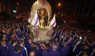 Cristo Moreno: cientos de fieles asistieron a la última procesión del año