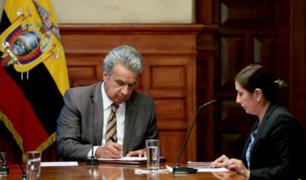 Ecuador: destituyen a Moreno de la presidencia de su partido