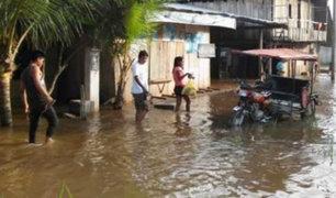San Martín: desborde de río afecta a pobladores de la provincia de Picota