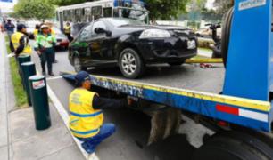 Av. Arequipa: pese a operativo, conductores informales continúan laborando