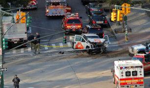 Estado Islámico se atribuye atentado en Manhattan
