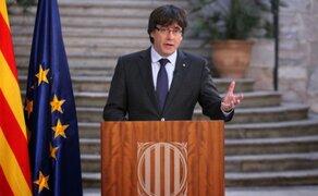 Justicia española ordena detención inmediata de Carles Puigdemont