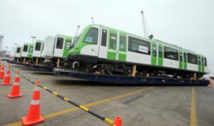 Presentan nuevo tren para la Línea 1 del Metro de Lima