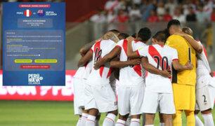 Selección Peruana: Teleticket registró 311 mil inscritos en inicio de la venta de entradas