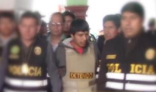 Capturan a presunto asesino de escolar en el Cusco