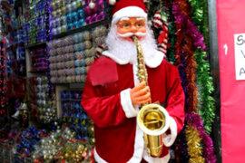 Se inicia la campaña navideña en el Centro de Lima