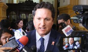 Daniel Salaverry criticó la no participación de Fuerza Popular en Junta de Portavoces