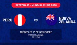 Perú vs. Nueva Zelanda: lista de ganadores para choque en estadio Nacional