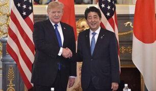 Tokio: Donald Trump insta al rearme de Japón