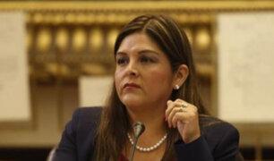 Karina Beteta denuncia por maltrato al presidente del Congreso Daniel Salaverry