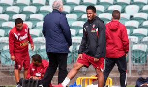 Nueva Zelanda: Selección Peruana realizó su primer entrenamiento en estadio de Auckland