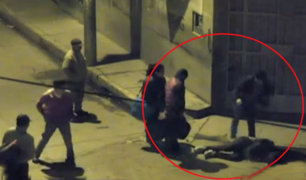 Huancayo: golpean a ladrón que intentó robarle a transeúnte