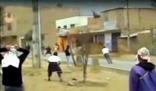SJM: grupo de pandilleros asesina a joven a pedradas y cuchilladas