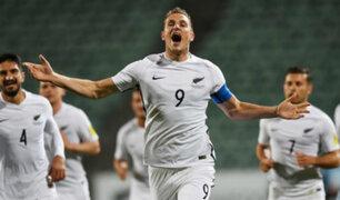 Selección de Nueva Zelanda llegó al Westpac Stadium