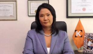 Caso Odebrecht: Keiko Fujimori declaró ante la Fiscalía