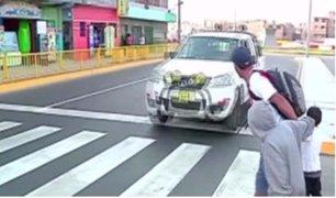Cruces imposibles en Lima: ciudad no apta para peatones