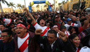 Fiesta Nacional: hinchas vibraron con partido entre Perú y Nueva Zelanda